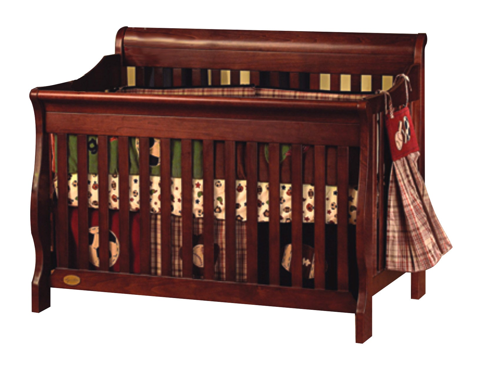 Shop Simplicity Ellis 4 In 1 Convertible Crib Free Shipping Today