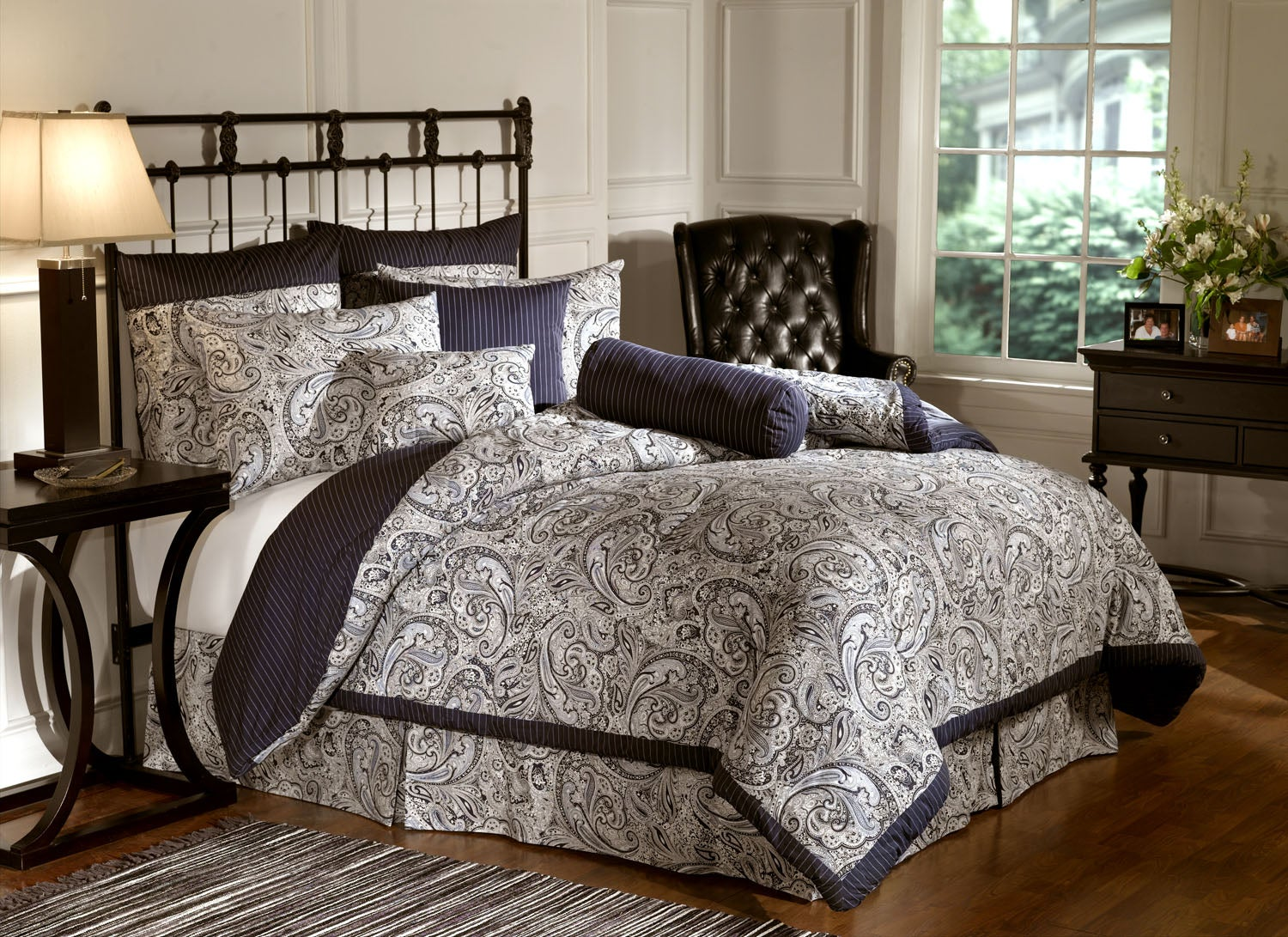 bill blass 9pc bedding set - free shipping today - overstock