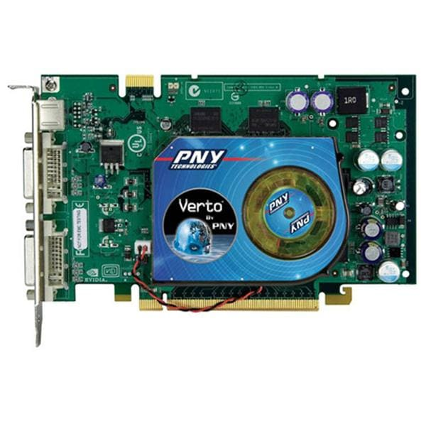 PNY VCG7600GXPB Verto GeForce 7600GT Video Card (Refurbished)