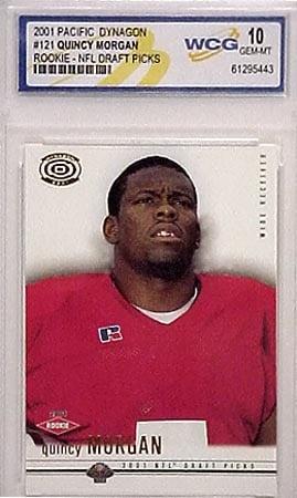 Quincy Morgan 2001 'Dynagon' Rookie (Gem-Mint 10)