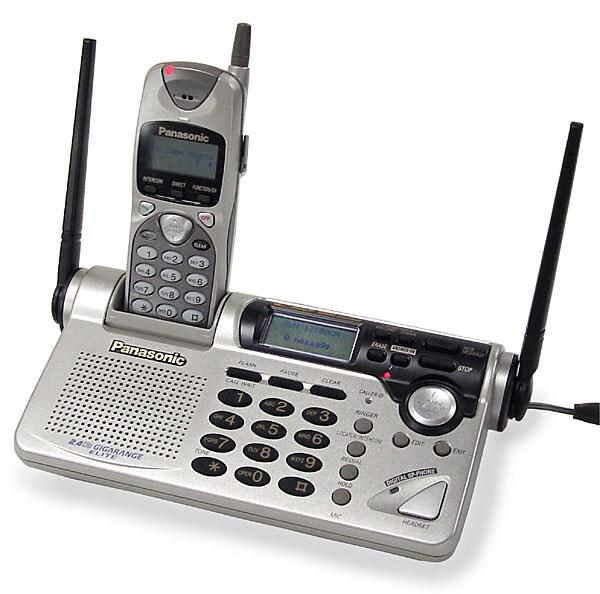 Panasonic KX-TG2670N 2.4GHz Cordless Phone (Refurbished)
