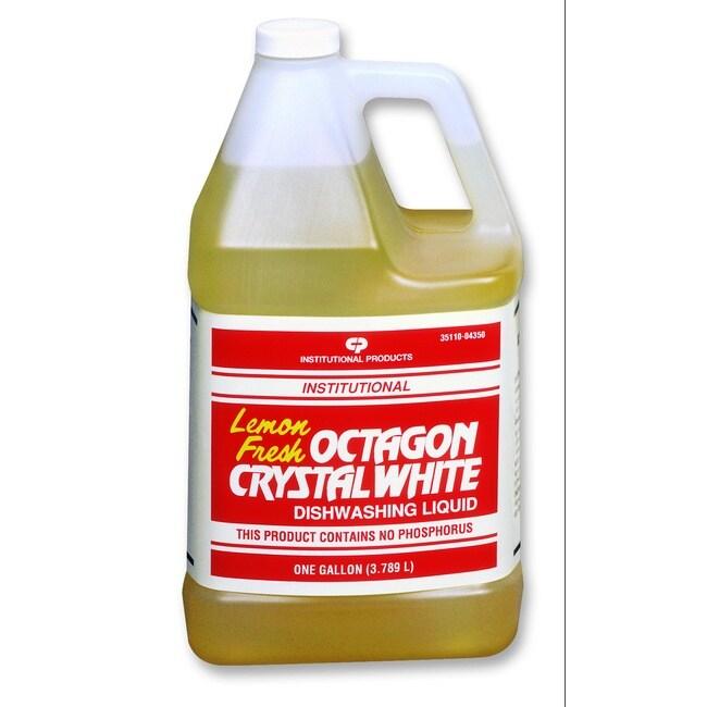 Octagon Crystal White(r) Dishwashing Liquid - 1 gl. Each (case p