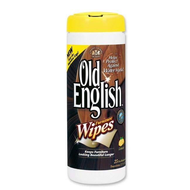 Reckitt Benckiser Old English Furniture Wipes (case Pack Of 300)