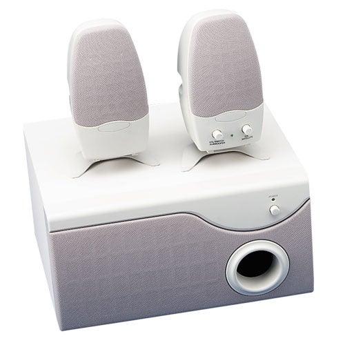 Three-Piece Multimedia Speaker, Putty (Each)