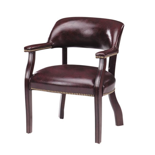 oxblood banker 39 s chair without casters free shipping