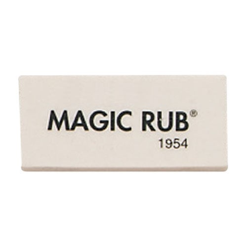 Magic Rub Eraser, Large, White (bulk pack of 288)
