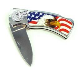 Eagle Lockback Collectors Pocket Knife in Box - Thumbnail 1