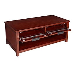 Cherry Mission-style Coffee Table - Thumbnail 1