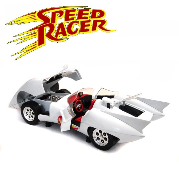 Speed Racer Mach 5 - 1:18 Scale Model Car - Thumbnail 1