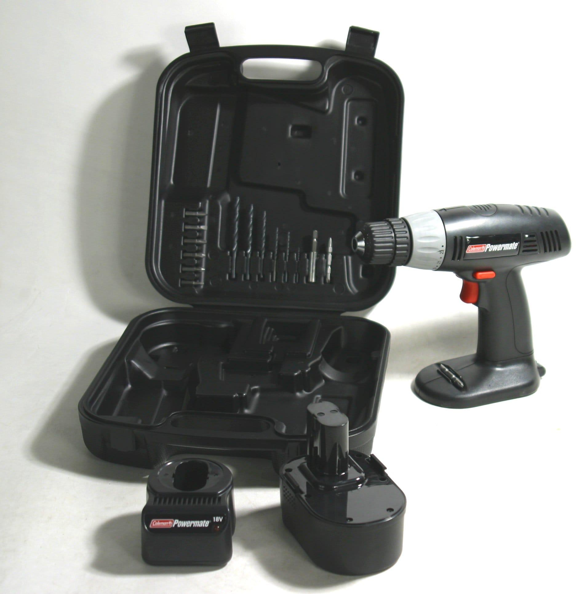 Coleman Powermate 18-volt Cordless Drill Kit
