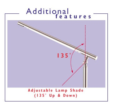 75-watt Natural Light Energy Saving Desk Lamp