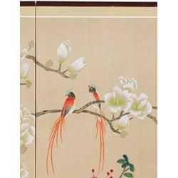 Handmade Love Birds Silkscreen