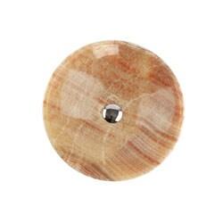 Fontaine Honey Onyx Vessel Bathroom Sink - Thumbnail 2