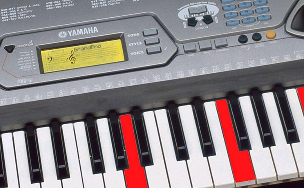 Yamaha ez 250i 61 key portatone lighted musical keyboard for Yamaha portatone keyboard