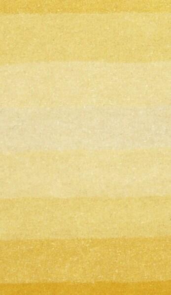 Hand-tufted Yellow Stripe Wool Rug (5' x 8') - Thumbnail 1