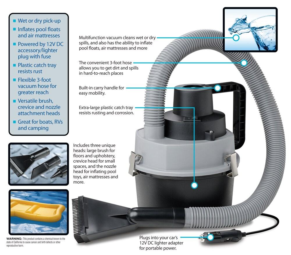Wet Dry Auto Vacuum