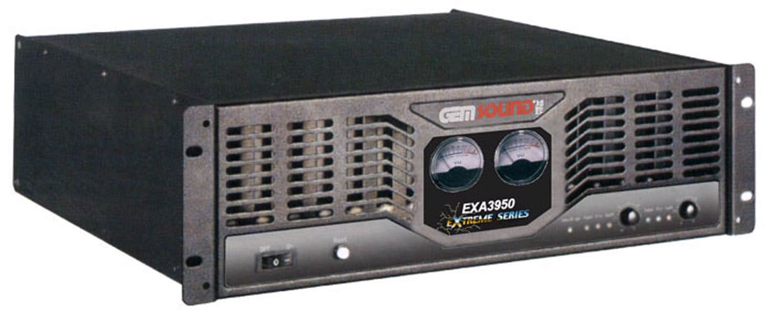 Gem Sound EXA-3950  Stereo Power Amplifier - Thumbnail 1
