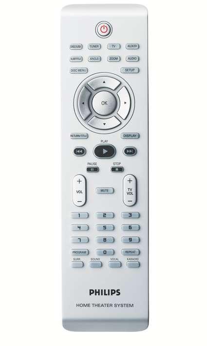 Philips HTS3450 1000-watt DVD Home Theater System (Refurbished)