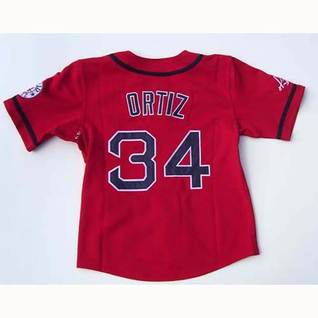David Ortiz Red 'Papi' Jersey - Thumbnail 1