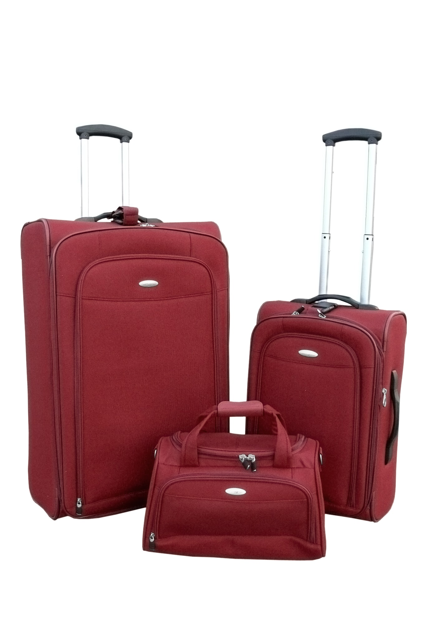 Samsonite Elevation 3 Pack Soft Side Luggage Set Free