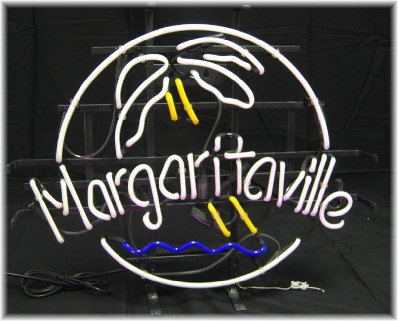 Jimmy Buffett's Margaritaville Neon Bar Sign - Thumbnail 1