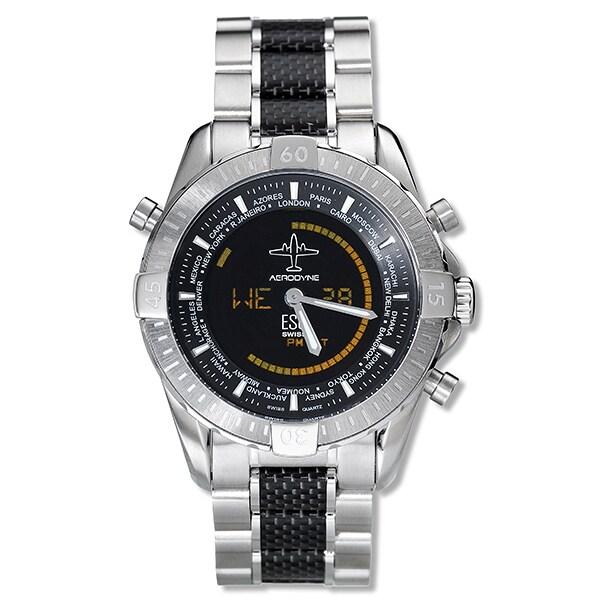 ESQ Aerodyne Men's Stainless Steel Watch