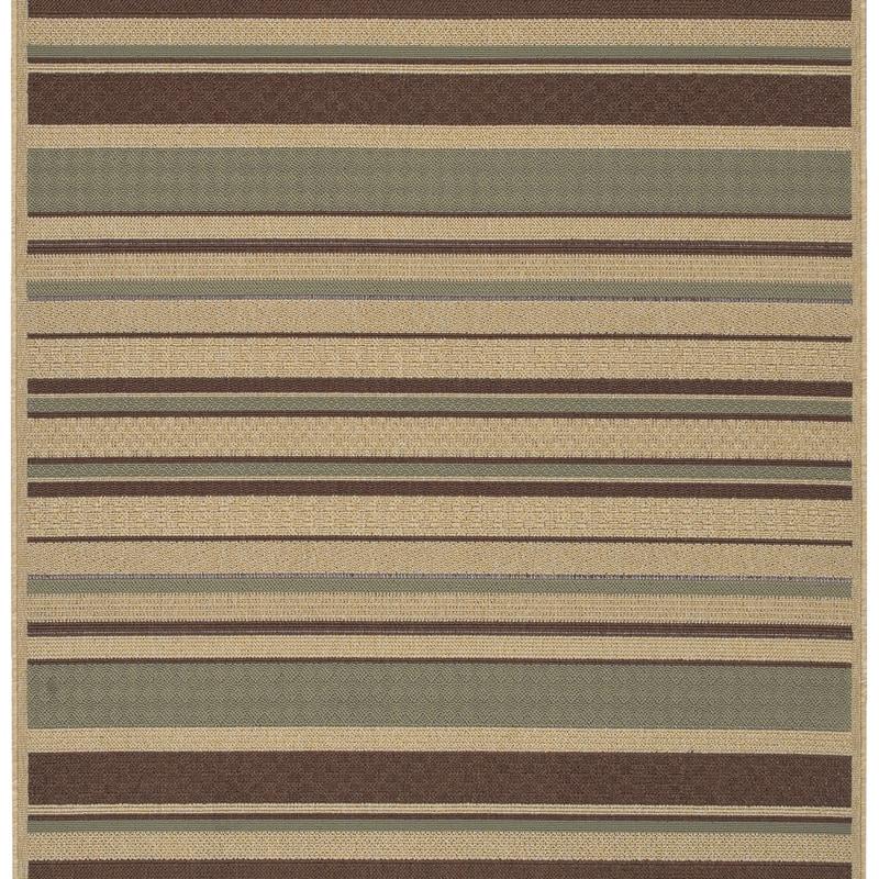 Cafe Series Stripe Indoor/Outdoor Rug (6' x 9')