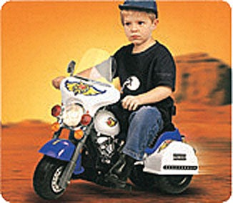 Kid's Electric Yellow Ride On Motorcyle
