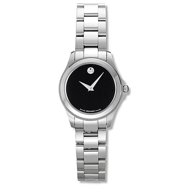 Movado Jr. Women's Stainless Steel Watch - Thumbnail 1
