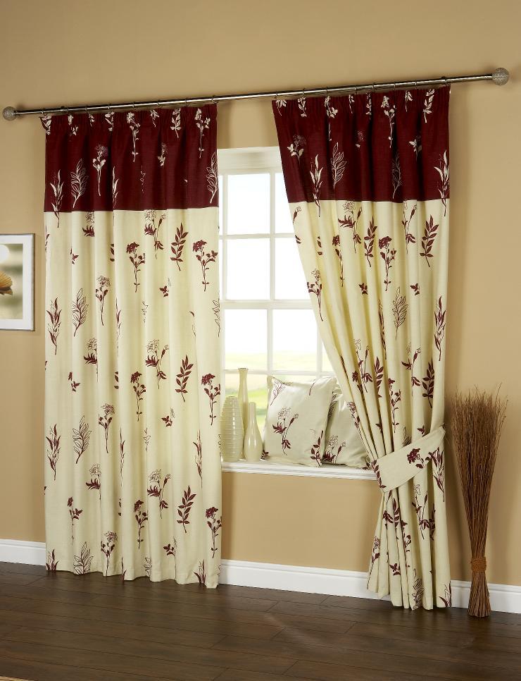 Milan Rod Pocket Curtain Panel Pair - Thumbnail 1