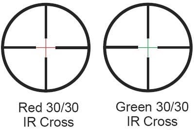 Barska 3-9 x 42 Illuminated Dual Color Reticle Rifle Scope - Thumbnail 1