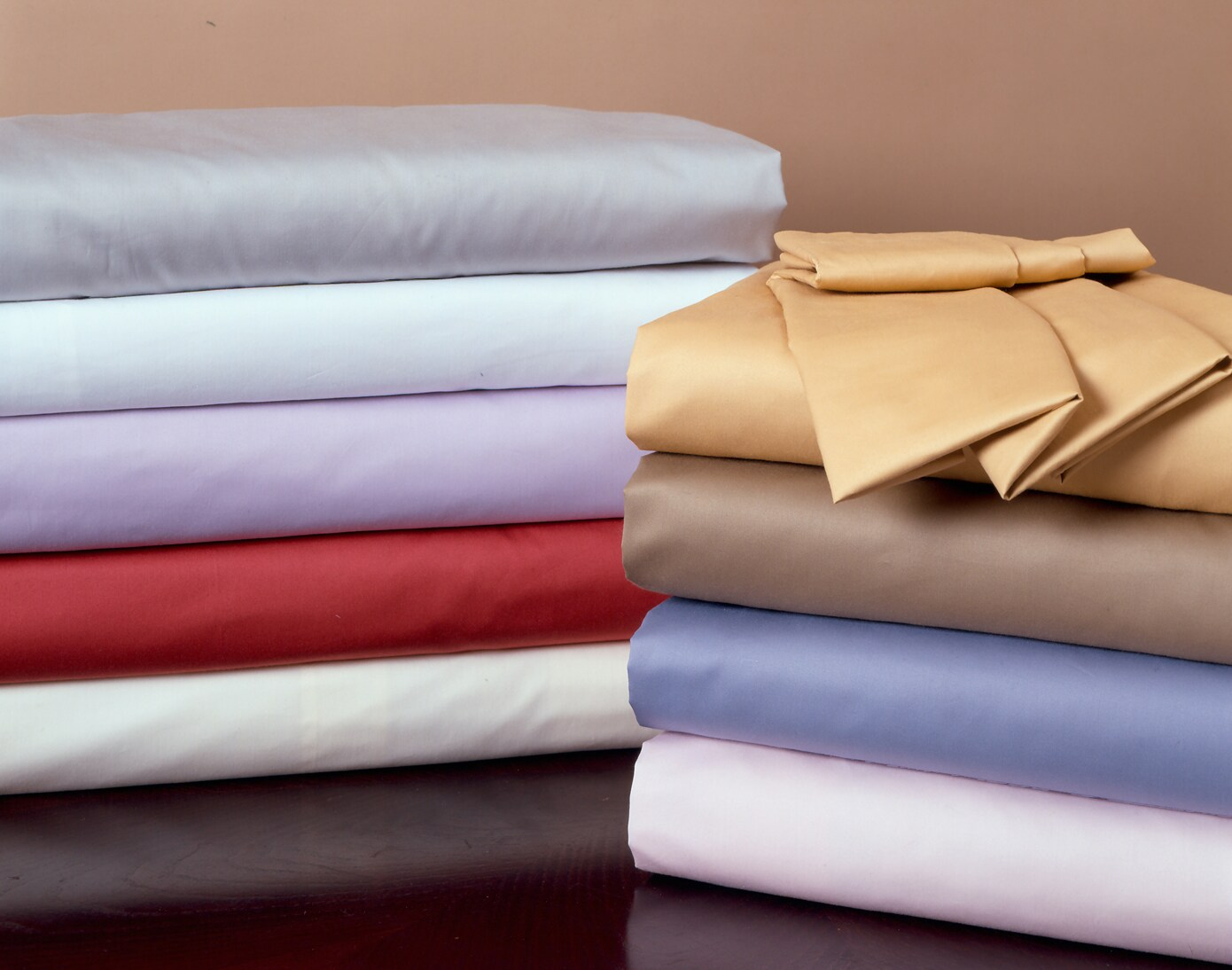 Egyptian Cotton 400 Thread Count 3-piece Duvet Cover Set - Thumbnail 1