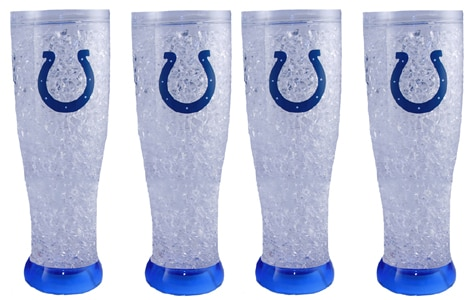 Indianapolis Colts Crystal Pilsner (4 Pack) - Thumbnail 1