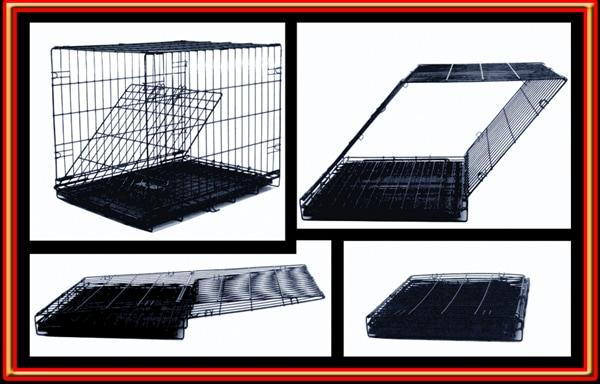 "Majestic Pet ""Titan"" Single Door 24-inch Folding Dog Crate"