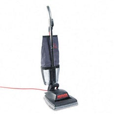 Hoover Commercial Guardsman Black Heavy-duty Bagless Upright Vacuum