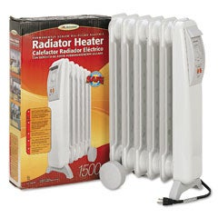 Oil-Filled Electric Radiator Heater