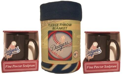 Los Angeles Dodgers Winter Bundle: Mugs and Fleece