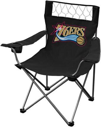 Black Philadelphia 76ers Folding Chair