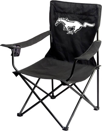 Mustang Pony Print Folding Chair - Thumbnail 1
