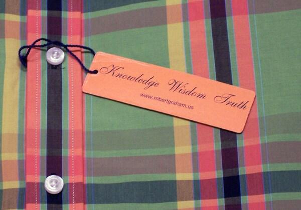 Robert Graham Green 'Ricky' Long Sleeve Shirt - Thumbnail 1