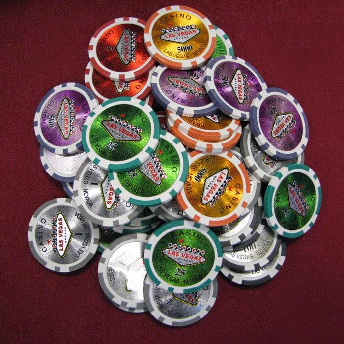 Las Vegas Casino Poker Chips