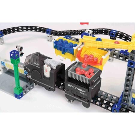 Rokenbok Monorail Metropolis Play Set - Thumbnail 1