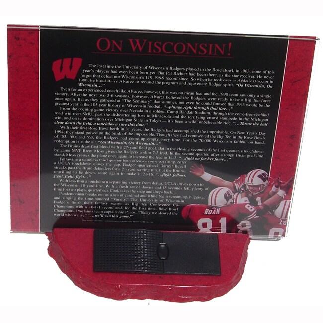 On Wisconsin Audio Desktop Collectible - Thumbnail 1
