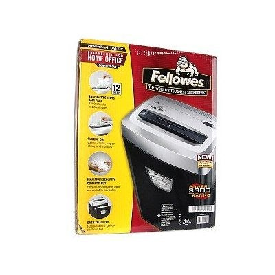 Fellowes DM12c 12-sheet Confetti Paper Shredder