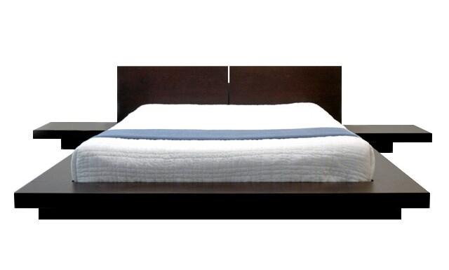 Wonderful Fujian 3 Piece Queen Size Platform Bedroom Set Free Shipping