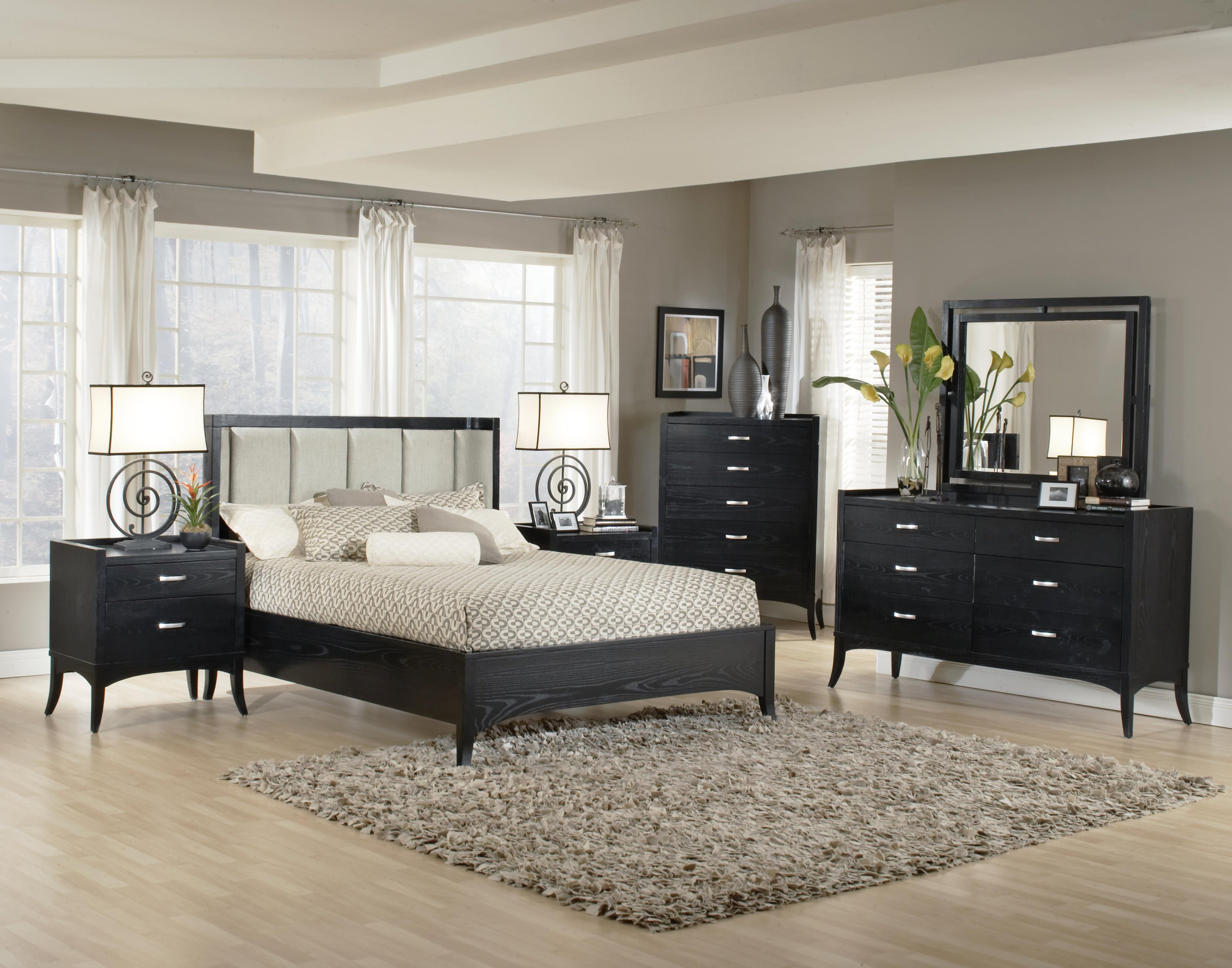 Overstock Bedroom Furniture Sets Park Avenue 6 Piece California King Bedroom Set Free Shipping