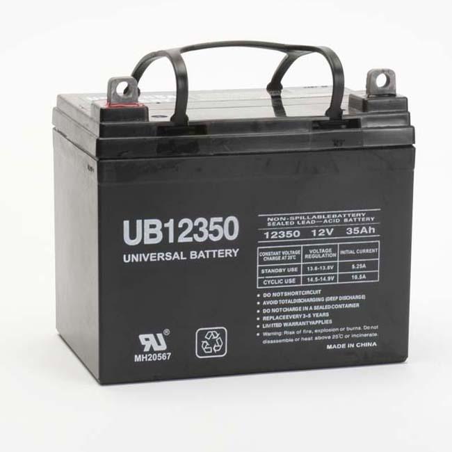 Universal D5722 U1 Wheelchair Battery - Thumbnail 1
