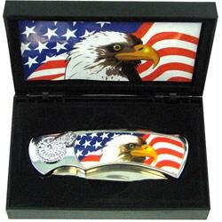 Eagle Lockback Collectors Pocket Knife in Box - Thumbnail 2
