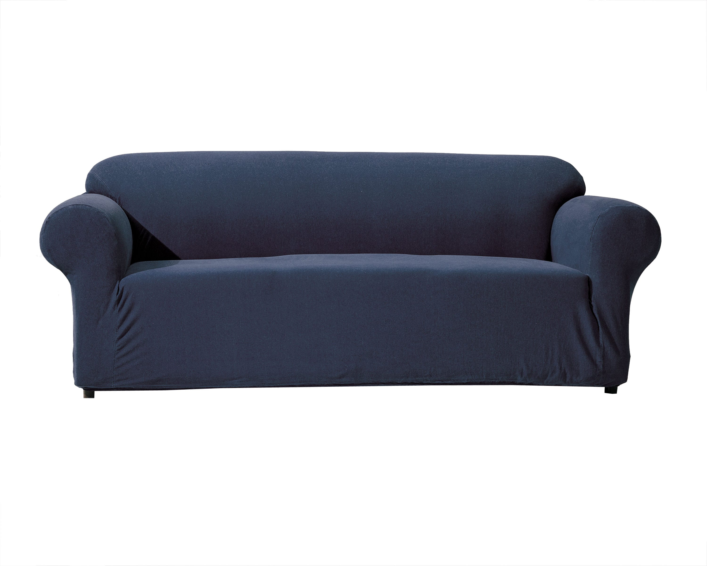 Denim Slipcover Sofa For Formidable