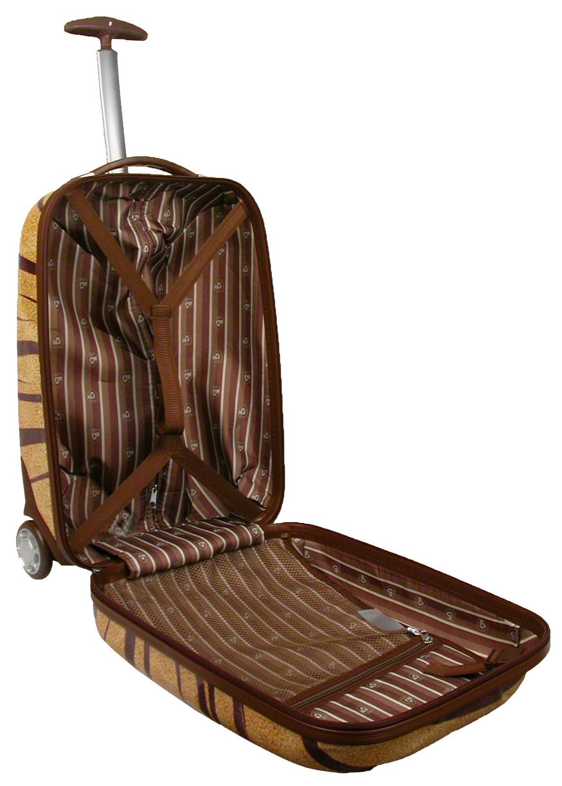 Heys XCase Exotic Plaid Polycarbonate 20-inch Carry-on - Thumbnail 1